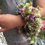 パワースポットと田植えと花かんむり
