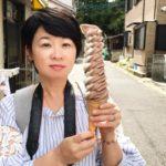 12段ソフトクリームのお好み焼きマツダ@長崎