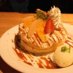眼鏡橋近くふわふわパンケーキのお店/カフェブリッジ@長崎